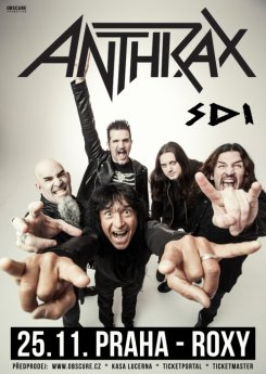 ANTHRAX + support